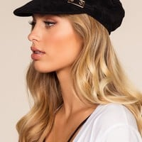 Northbrook Fiddler Cap - Black
