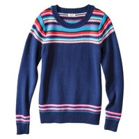 Mossimo Supply Co. Juniors Fairisle Pullover Sweater - Assorted Colors