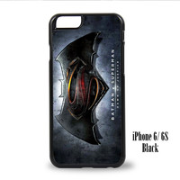 Batman Superman Logo for iPhone 6, iPhone 6s, iPhone 6 Plus, iPhone 6s Plus Case