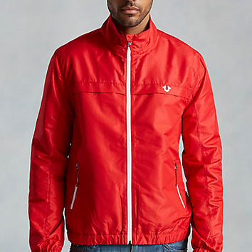 TRUE HOODED MENS TRACK JACKET