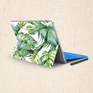 Trees and Flowers Microsoft Surface Pro 3 4 Decal