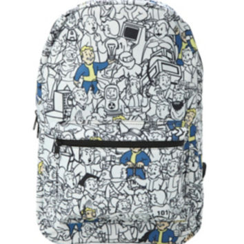 Fallout Vault Boy Print Backpack