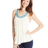 Wrangler Junior's Rock 47 Layered Sleeveless Top