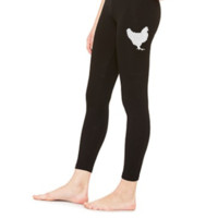 Chicken Embroidery - LEGGING