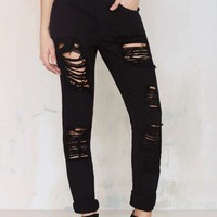 Nasty Gal Denim - The Boy Toy Boyfriend