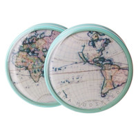 World Map BMA Plugs (6mm-27mm)