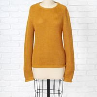 Marigold Knit Sweater | NRFB – No Rest For Bridget