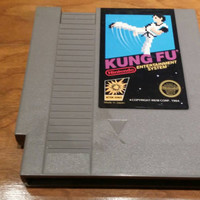 Free shipping- Kung Fu 5 screw variant cart - Nintendo nes system console game
