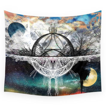 Society6 TwoWorldsofDesign Wall Tapestry