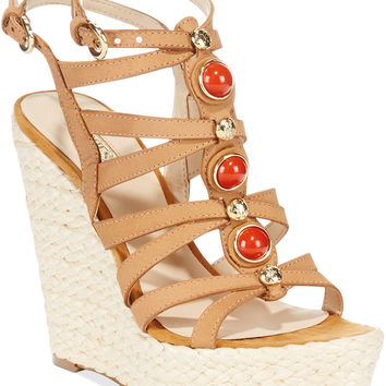 GUESS Onixx Espadrille Platform Wedge Sandals