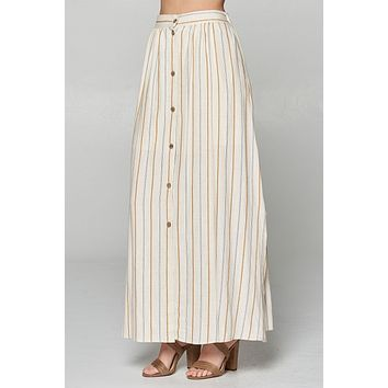 Summer Sunset Maxi Skirt