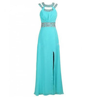 Blue Prom Dresses, Blue Evening Dresses, Formal Prom Dresses