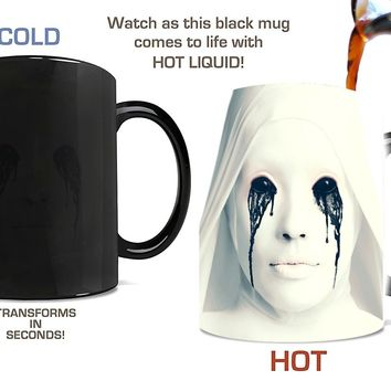 American Horror Story Coffee Mug walking dead coffee mugs Magic Color change Zombie Ceramic scary mug Drinkware cup Gift