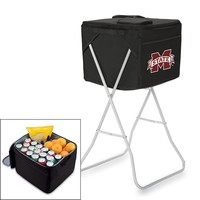 Picnic Time Mississippi State Bulldogs Party Cube (Black)