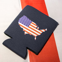 The Summertime American Hero Koozie