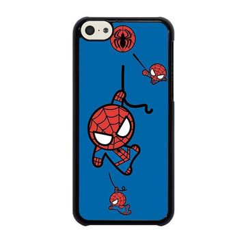 spiderman kawaii marvel avengers iphone 5c case cover  number 1
