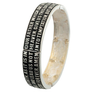 Lord's Prayer Stretch Bracelet