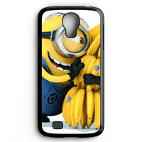 Minion Love Bananas Samsung Galaxy S4 Case