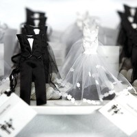Bride and Groom Favor Bags