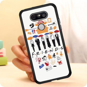 FRIENDS Collage Drawing LG G5 Case Planetscase.com