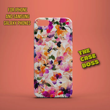FLOWER POWER Design Custom Phone Case for iPhone 6 6 Plus iPhone 5 5s 5c iphone 4 4s Samsung Galaxy S3 S4 S5 Note3 Note4 Fast!