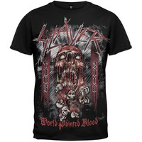 Slayer - World Painted Blood All Over T-Shirt
