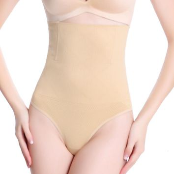 FLORATA High Waist Thong G-String Tummy Control Girdle Shaperwear Body Shaper Briefs Free Shipping With Tracking Information