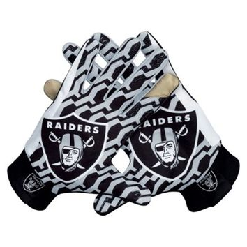 Nike Oakland Raiders Stadium Gloves - Black