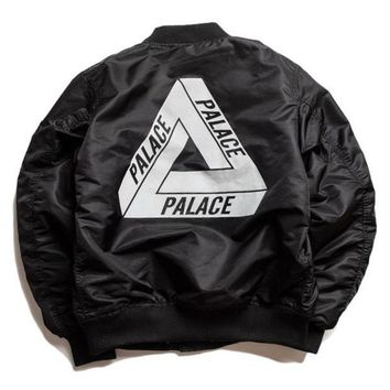 Palace MA-1 Bomber jacket men winter baseball trench coat windbreaker parka military tactical autumn clothes skateboard hip hop Kanye west