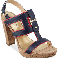 Tommy Hilfiger Women's Edessa Platform Dress Sandals