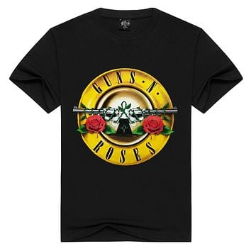 Men/Women Guns N' Roses t shirt Fashion guns n roses Tshirts Summer Tops Tees T-shirt Men loose t-shirts Plus Size