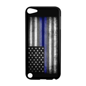 The Thin Blue Line American Police Officer iPod Touch 5 Case