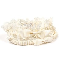'Eleanor' Lace Wedding Garter