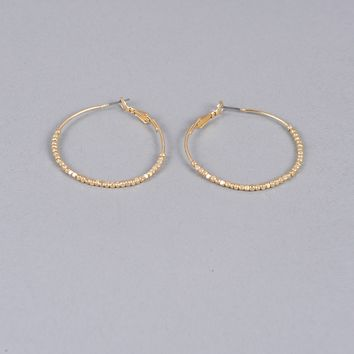 Armitage Avenue Beaded Hoop Earring
