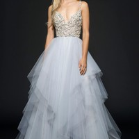 Hayley Paige Arlo Beaded Tulle Ballgown | Nordstrom