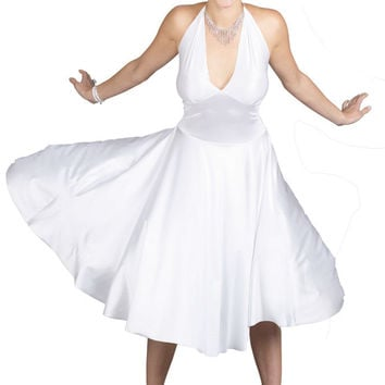 women's costume: marilyn monroe deluxe | medium/large