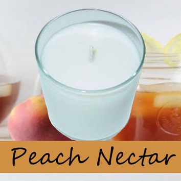 Peach Nectar Scented Candle in Tumbler 13 oz