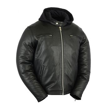 Men's Sport Scooter Jacket w/ Removable Hood