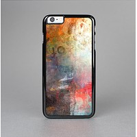 The Grungy Colorful Faded Paint Skin-Sert for the Apple iPhone 6 Skin-Sert Case
