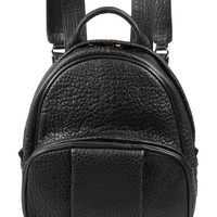 Alexander Wang - Dumbo textured-leather backpack
