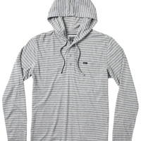 Heather Henley Hooded Knit Shirt | RVCA