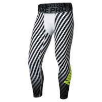 Nike Pro Hyperwarm Printed Compression Men's Football Tights