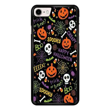Happy Halloween Spooky  iPhone 7 Case