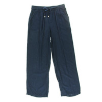 Style & Co. Womens Petites Relaxed Fit Comfort Waist Wide Leg Pants