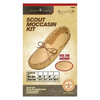 Realeather Crafts Scout Moccasin Size 8 / 9 Leather Set