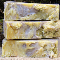 Coconut Lemongrass Handmade Vegan Soap