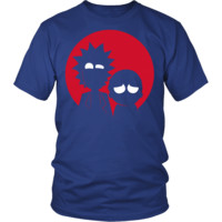 Rick And Morty - silhouette artwork - Men Short Sleeve T Shirt - TL01504SS