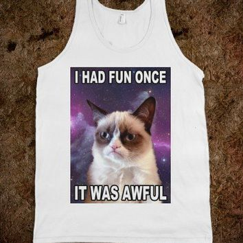 I Had Fun (Grumpy Cat Tank)