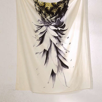 Deb Haugen For DENY Pineapple 1 Tapestry | Urban Outfitters
