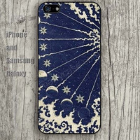 moon cartoon iphone 6 6 plus iPhone 5 5S 5C case Samsung S3, S4,S5 case, Ipod touch Silicone Rubber Case, Phone cover